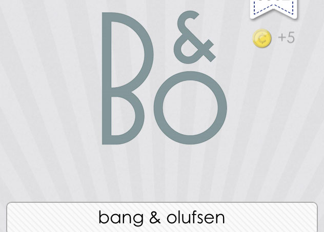 bang olufsen logos quiz answers logos quiz. Black Bedroom Furniture Sets. Home Design Ideas