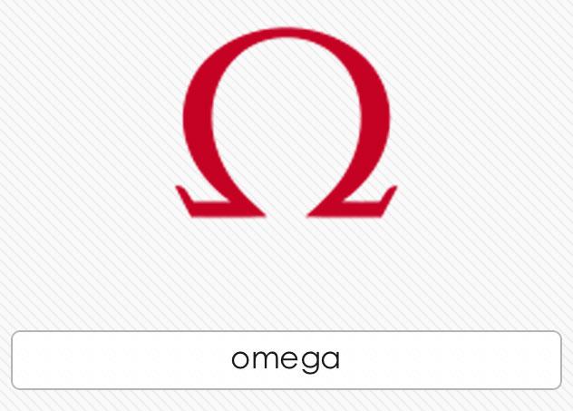 omega watches logo